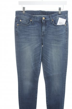 7 For All Mankind Hüftjeans blau Jeans-Optik