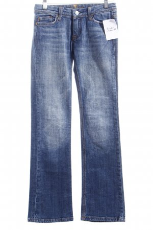 7 For All Mankind Hüftjeans blau Used-Optik