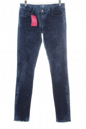 7 For All Mankind Hüftjeans dunkelblau-blassblau Casual-Look