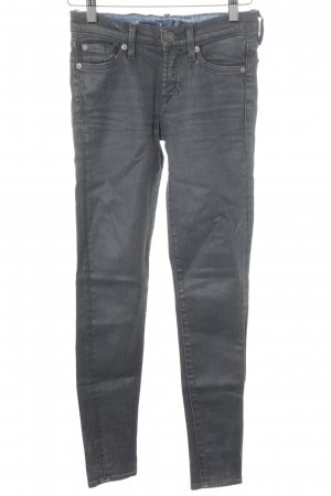 7 For All Mankind Hüftjeans dunkelgrau Casual-Look