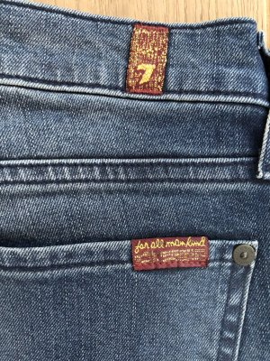 7 For All Mankind Tube Jeans dark blue-steel blue