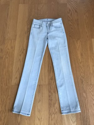 7 For All Mankind Jeans a gamba dritta blu pallido