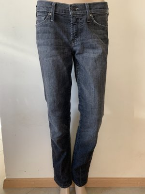 7 For All Mankind Skinny jeans zilver-donkergrijs