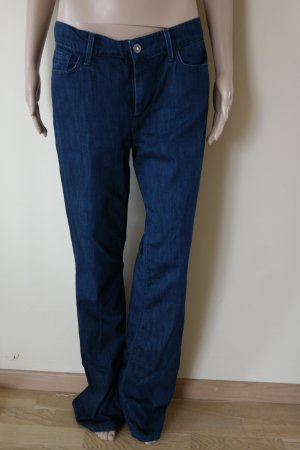 7 For All Mankind Hoge taille jeans donkerblauw