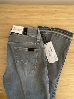7 For All Mankind 7/8 Length Jeans multicolored