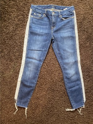 7 For All Mankind Jeans a 7/8 blu