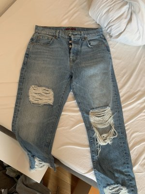 7 For All Mankind 7/8 Length Jeans cornflower blue