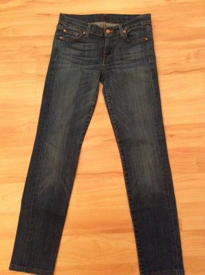 7 For All Mankind Slim Jeans dark blue