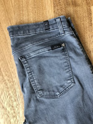 7 For All Mankind Skinny Jeans grey