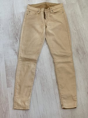 7 For All Mankind Tube jeans beige