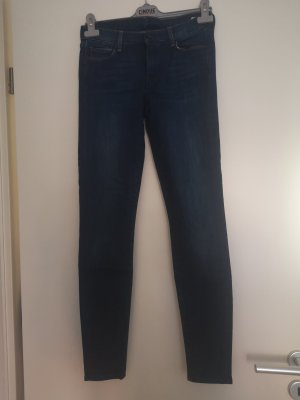 7 For All Mankind Tube jeans blauw-donkerblauw