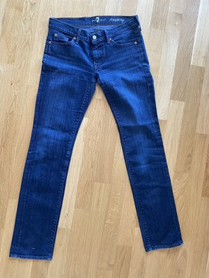 7 for all mankind Jeans blau 29 M L
