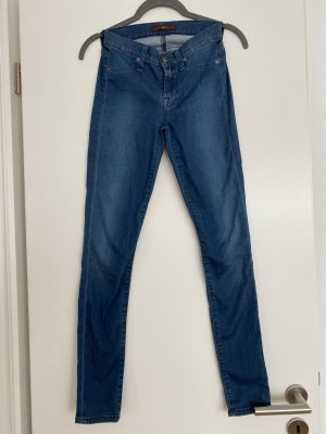 7 For All Mankind Jeans skinny grigio ardesia