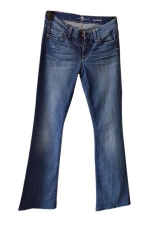 7 For All Mankind Jeansy z prostymi nogawkami niebieski