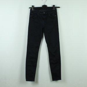 7 for all mankind Jeans Gr. 26 dunkelblau Modell Skinny (20/10/363*)