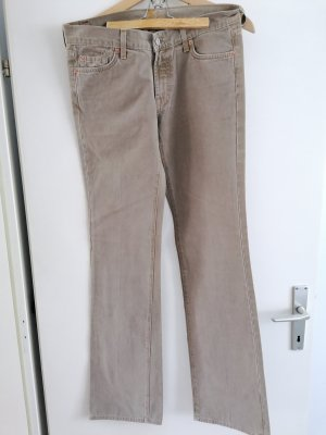 7 For All Mankind Jeans svasati verde-grigio