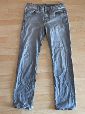 7 for all mankind Jeans Gr.33/32 slimmy grau