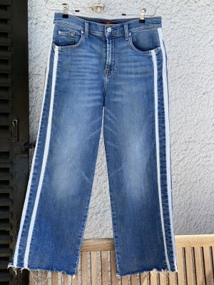 7 For All Mankind Marlene jeans korenblauw-wit