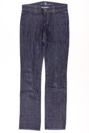 7 For All Mankind Jeans bleu-bleu fluo-bleu foncé-bleu azur coton