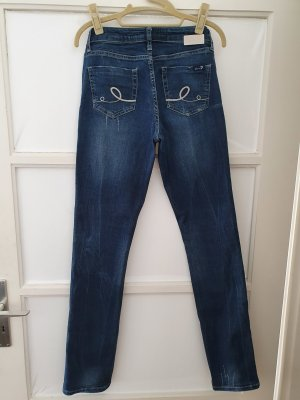 7 For All Mankind Straight Leg Jeans multicolored cotton