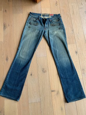 7 for all mankind Jeans mit Nietenapplikation