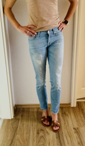 7 for all mankind Jeans ripped used look 25