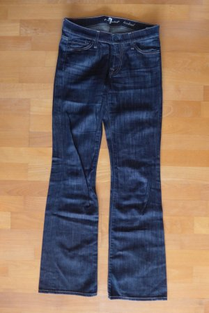 7 for all Mankind Jeans Schlag Bootcut dunkelblau Gr. 26 XS S