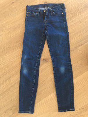 7 for all mankind Jeans Skiny Röhre Gr. 25