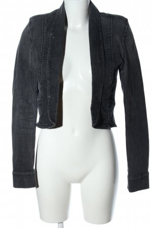 7 For All Mankind Jeansjacke hellgrau Casual-Look