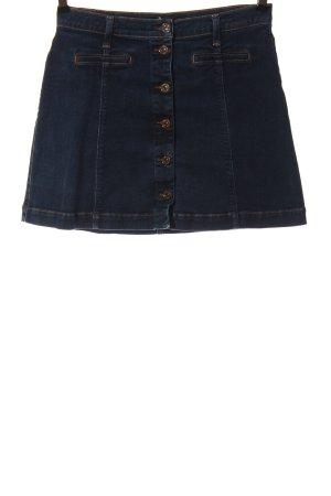 7 For All Mankind Jeansowa spódnica niebieski W stylu casual