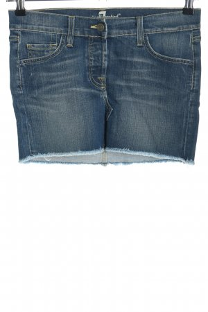 7 For All Mankind Denim Skirt blue casual look