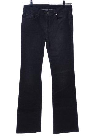 7 For All Mankind Jeans flare noir style décontracté