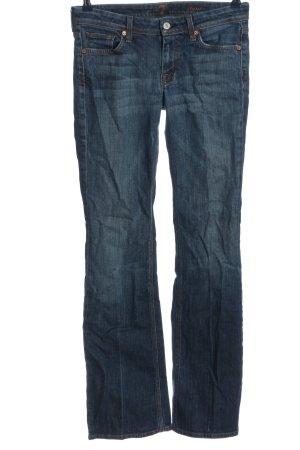 7 For All Mankind Jeansowe spodnie dzwony niebieski W stylu casual