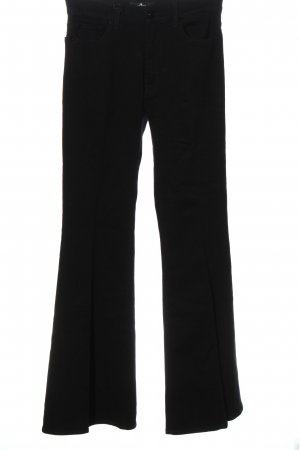 7 For All Mankind Denim Flares black casual look