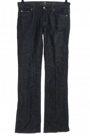 7 For All Mankind Jeans flare bleu style décontracté