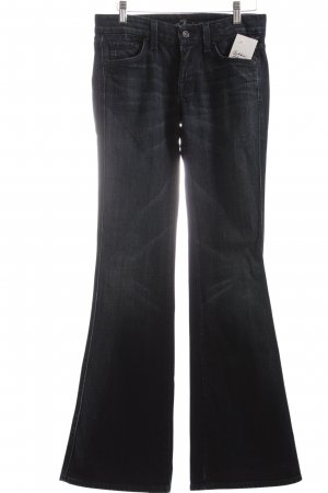 """7 For All Mankind Jeansschlaghose """"A Pocket"""" dunkelblau"""