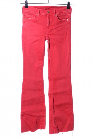 7 For All Mankind Jeans flare rouge style décontracté
