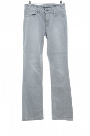 7 For All Mankind Jeansschlaghose hellgrau Vintage-Look