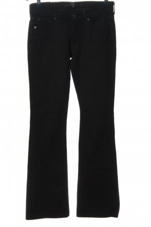 7 For All Mankind Vaquero acampanados negro look casual