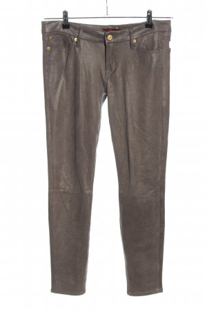 7 For All Mankind Jeggings bronze-colored casual look