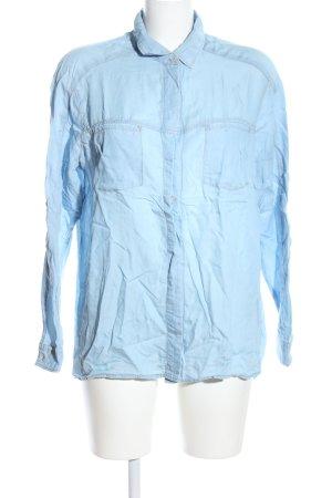 7 For All Mankind Shirt met lange mouwen blauw zakelijke stijl