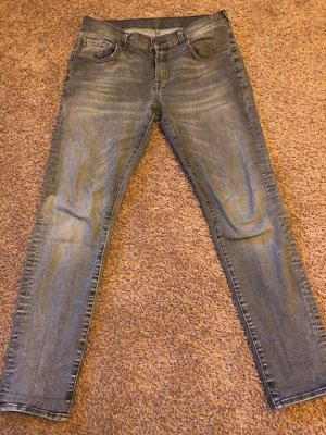 7 for all mankind relaxed skinny grau Gr. 27/32
