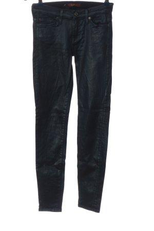 7 For All Mankind Pantalón de tubo azul look casual