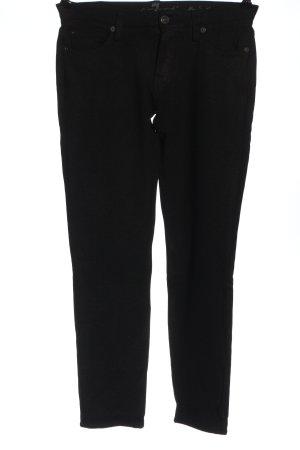 7 For All Mankind Spodnie rurki czarny W stylu casual