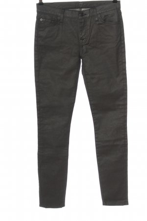 7 For All Mankind Drainpipe Trousers light grey casual look