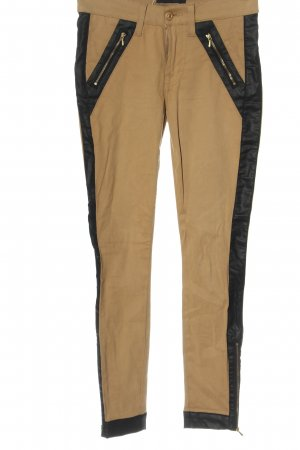 7 For All Mankind Drainpipe Trousers brown-black casual look