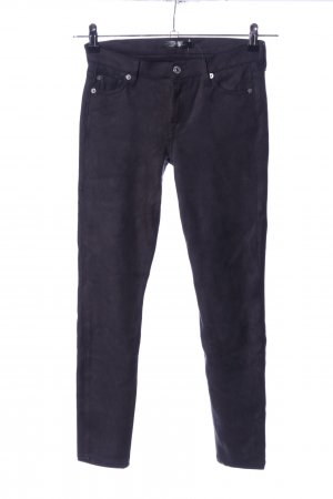 7 For All Mankind Röhrenhose blau Casual-Look