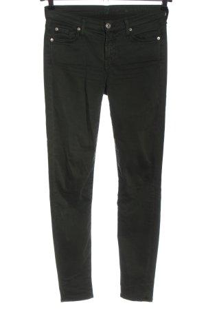 7 For All Mankind Jeans cigarette kaki style décontracté
