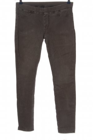 7 For All Mankind Röhrenjeans braun Casual-Look
