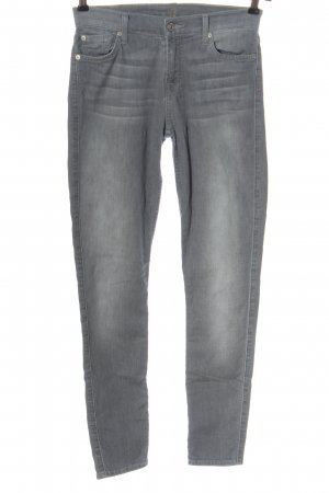 7 For All Mankind Tube jeans lichtgrijs casual uitstraling